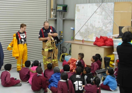 fire safe kids prac1